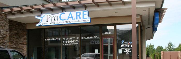 Olathe ProCARE Chiropractic, Acupuncture, Rehabilitation